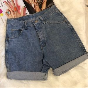 Wrangler Originals Vintage Denim Jean Shorts 30